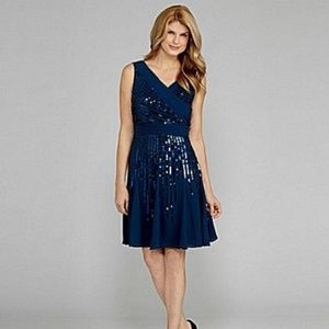 Antonio Melani Irenka Sequins Embellished Dress